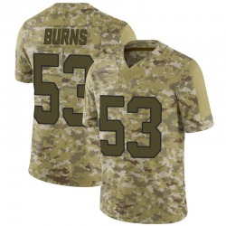 Limited Brian Burns Youth Carolina Panthers Camo 2018 Salute to Service Jersey - Nike